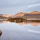 Lochan na h-Achlaise & Meall a Bhuiridh by Christopher Cullen