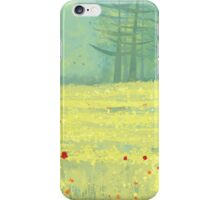 Meadow near Périgueux iPhone Case/Skin