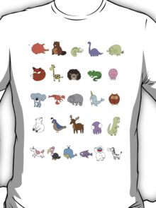 The Animal Alphabet T-Shirt