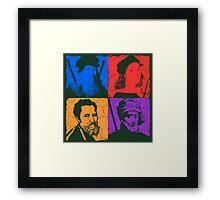Renaissance Ninjas Framed Print
