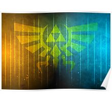 The Colorful Triforce Poster