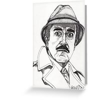Inspector Clouseau Greeting Card