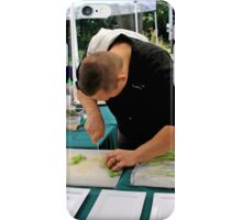 Chef cooking 7 iPhone Case/Skin