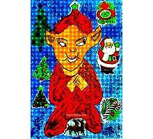 Evil Elf Photographic Print