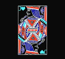 iphone case - Jack of Hearts by Mark Podger