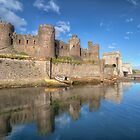 Conwy Castle by Adrian Evans