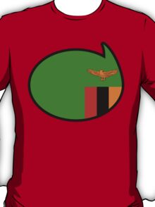 Zambia Soccer / Football Fan Shirt / Sticker T-Shirt