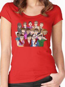 Banana Bus Crew Women's Fitted Scoop T-Shirt