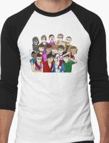 Banana Bus Crew Men's Baseball ¾ T-Shirt