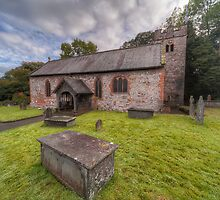 St.Dyfnog's Church by Adrian Evans