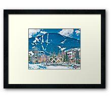 Whistler Olympics Framed Print