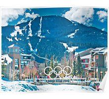 Whistler Olympics Poster