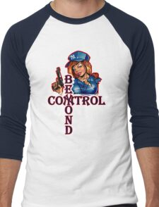 Yankee Babe Beyond Control Men's Baseball ¾ T-Shirt