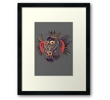 Conor McGregor Gorilla Tattoo! Framed Print