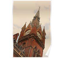 St Pancras Station 4 Poster