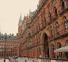 St Pancras Station Hotel 2 by rualexa
