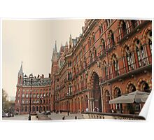 St Pancras Station Hotel 2 Poster