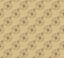 Pattern with compasses by AllaRi