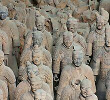 Terracotta warriors by raulcrt