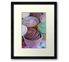 Cup Cakes 2 Framed Print