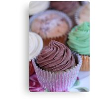 Cup Cakes 2 Canvas Print