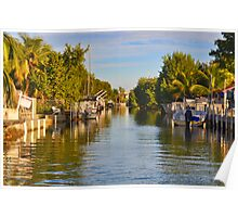 Key Largo Canal 2 Poster