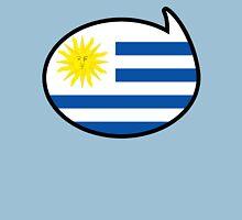 Uruguay Soccer / Football Fan Shirt / Sticker Womens Fitted T-Shirt
