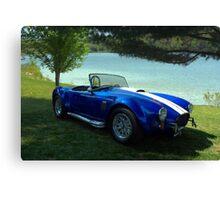 1966 Shelby Cobra Replica Canvas Print