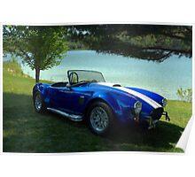1966 Shelby Cobra Replica Poster