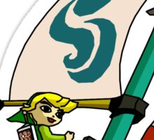 """Cell shaded """"The Wind Waker"""" Sticker"""