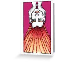 The Hanged Man/Woman Greeting Card