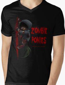 Hunter Pony Mens V-Neck T-Shirt