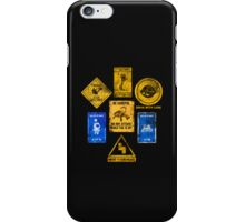 USEFUL SIGNS iPhone Case/Skin