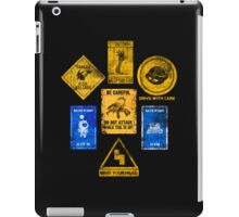 USEFUL SIGNS iPad Case/Skin