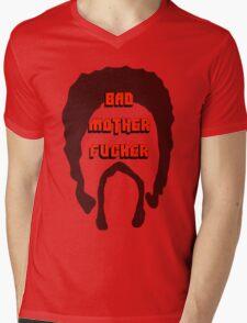 Bad MF Mens V-Neck T-Shirt
