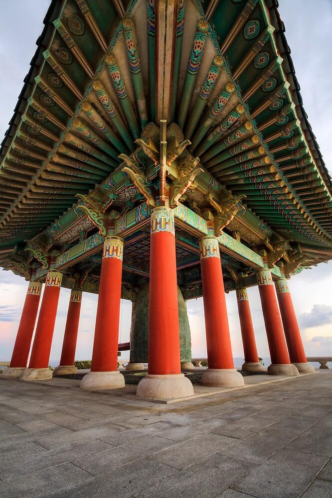 Korean Bell of Friendship by daviddelgado