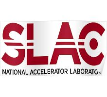 SLAC Logo for Light Colors Poster