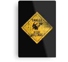 HIGH-VOLTAGE Metal Print