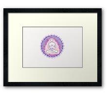 Big Mother purple Framed Print