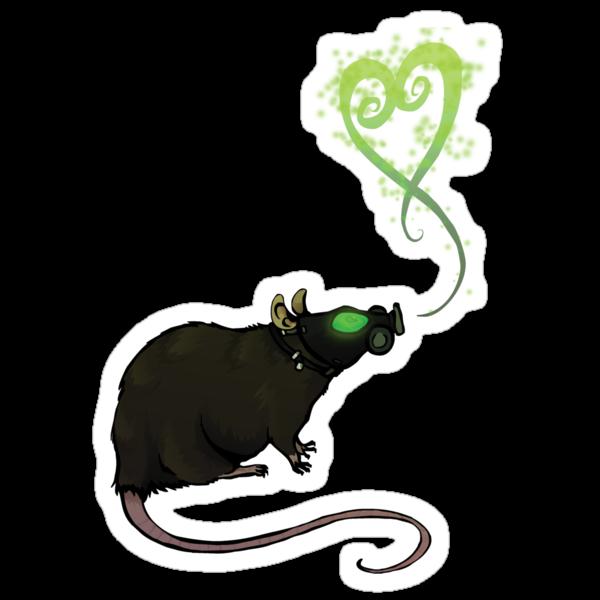 Radioactive rat by placidplaguerat
