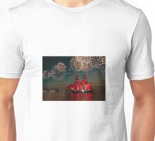 Sailing and fireworks Unisex T-Shirt