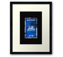 RESIDENT EVIL SAVE POINT Framed Print