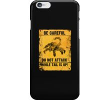 GUARD SCORPION iPhone Case/Skin