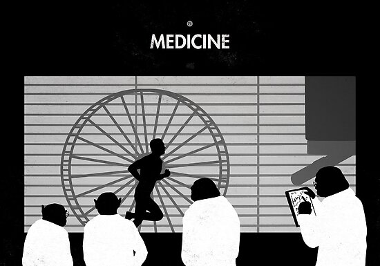 99 Steps of Progress - Medicine by maentis