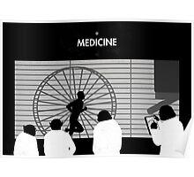 99 Steps of Progress - Medicine Poster