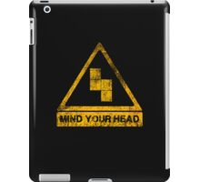 MIND YOUR HEAD iPad Case/Skin