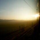 Train Window | Italy by rubbish-art