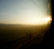 Train Window | Italy by rubbish-art