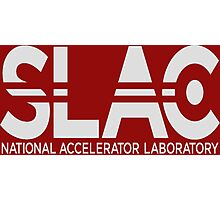 SLAC National Accelerator Laboratory Emblem Photographic Print