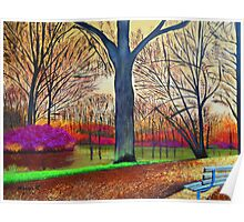 wonderful colors of fall Poster